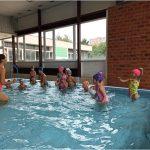Naši plavci, první lekce plavání třídy Kočiček a Motýlků