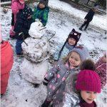 Zimní hrátky na sněhu - Berušky