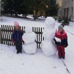 Sněhuláci 2021 - Sluníčka