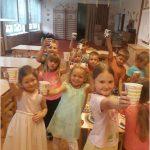 Motýlci - oslava 5. narozenin Julinky
